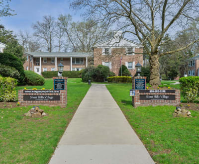 Enjoy the neighborhood at Short Hills Village Apartment Homes