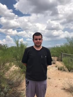 Phillip works at Pusch Ridge Pet Clinic