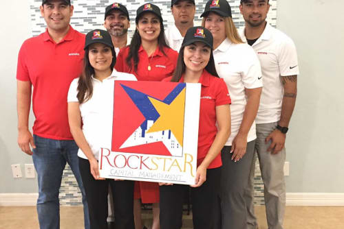 Rockstar Capital red and white team