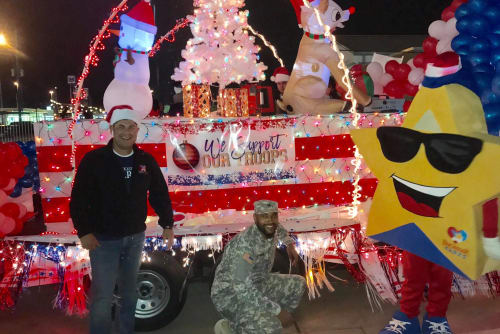 Deerbrook Forest Apartments supports the troops