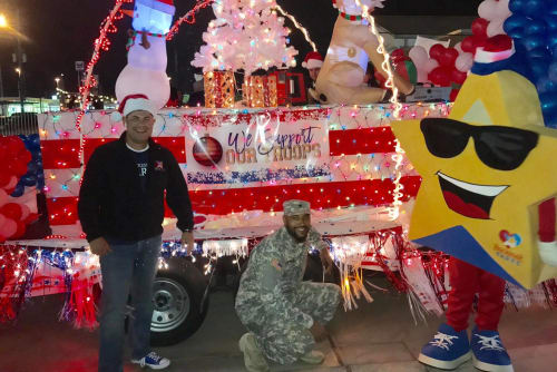 Parkside Apartments supports the troops
