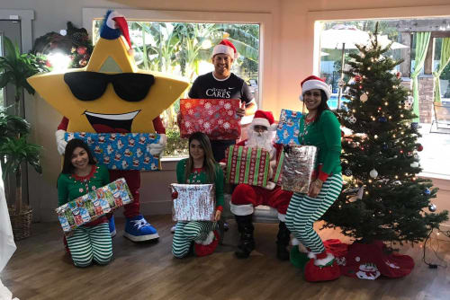 Parkside Apartments giving back for Christmas