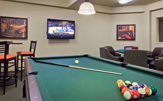 Affinity at Coeur d'Alene pool table