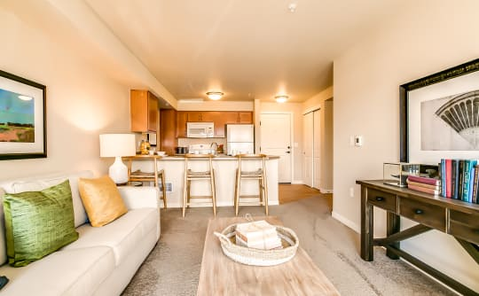 Open floor plans at Affinity at Lacey in Lacey, Washington