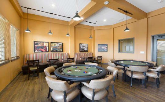 Game room at Affinity at Lacey in Lacey, Washington