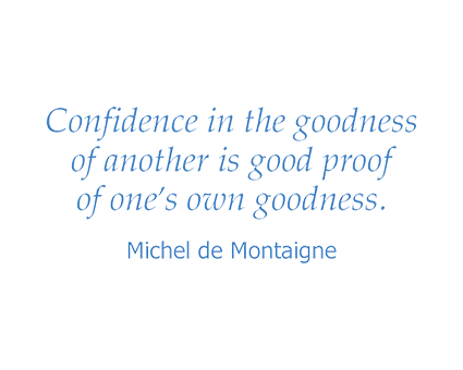Montaigne quote