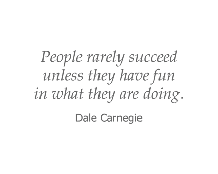 Dale Carnegie quote for Garden Place Senior Living