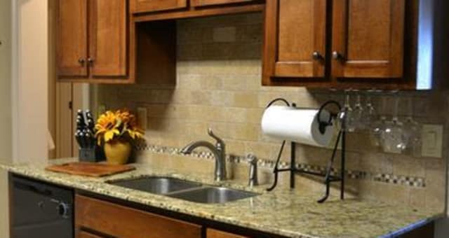 Nice counter tops at The Grove at Stone Park in Pike Road, Alabama