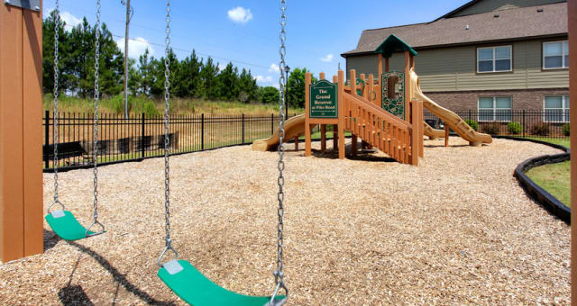 Playground at The Grove at Stone Park in Pike Road, Alabama