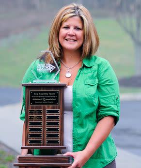 Chestnut Knoll named Top Fundraising Team
