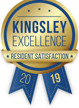 Nelson Kohl Apartments in Baltimore, Maryland received a Kingsley Excellence Residents Satisfaction 2019 award