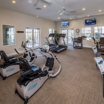 Fitness center at Village on the Green