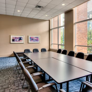 Conference room at Metropolitan Towers in Vancouver