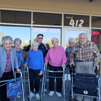 Seniors at Eastern Star Masonic Retirement Campus in Denver, CO