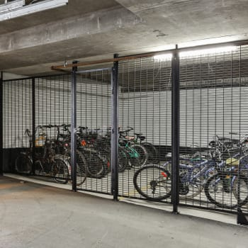 Underground parking at Dunway Court in Vancouver