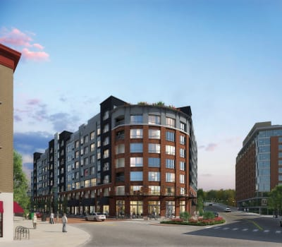 Luxury apartments at City Centre Ithaca in Ithaca, New York
