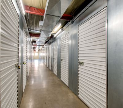 Climated controlled storage units at Storage Inns of America in Moraine, Ohio