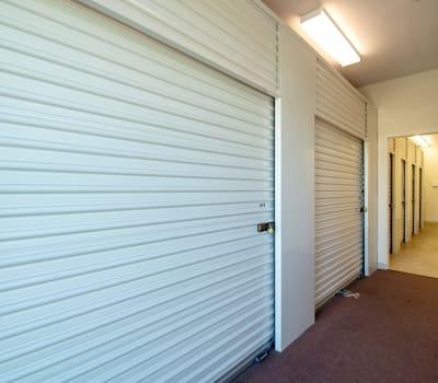 Interior hallways at Storage Inns of America in Troy, Ohio