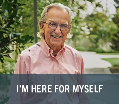 Learn more about being here for myself at Merrill Gardens.