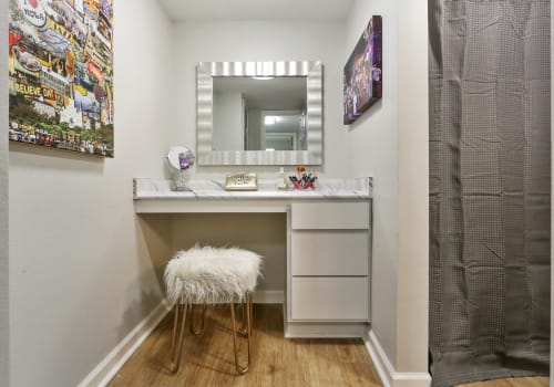 Corporate Units Vanity at The Mayfair Apartment Homes in New Orleans LA