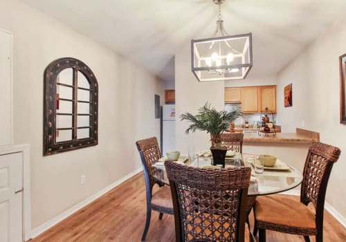 Dinning space at Summerfield Apartment Homes in Harvey, Louisiana
