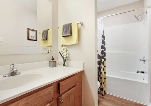 Bathroom at Summerfield Apartment Homes in Harvey, Louisiana