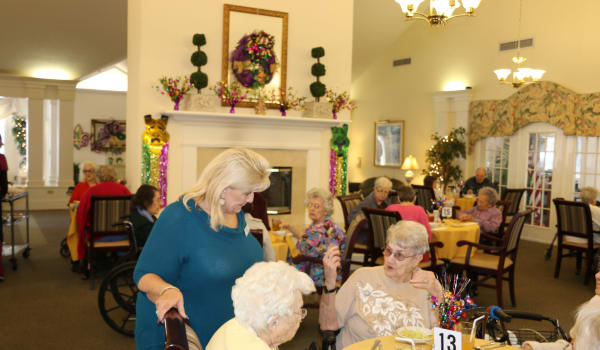 Community activities at Azalea Estates of Slidell in Slidell, Louisiana