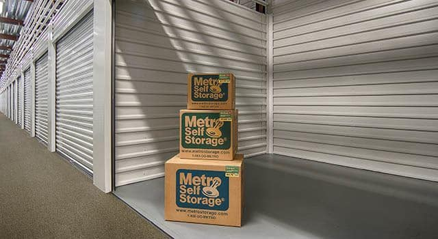 Climate controlled units at Metro Self Storage in Addison, IL
