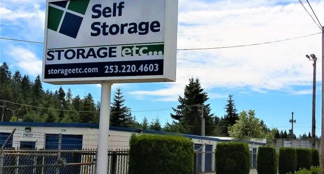 Front Entrance at Storage Etc... Lakewood