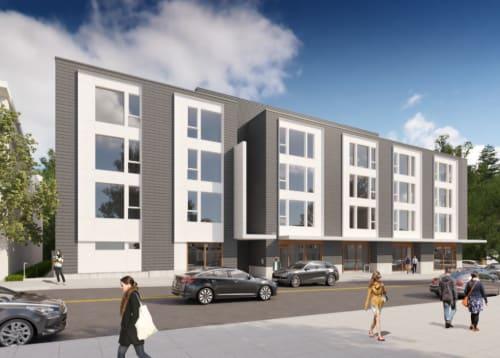 Exterior of Division Terrace in Portland, Oregon