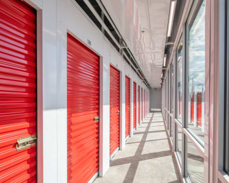 Ample indoor units available at StorQuest Self Storage in Bothell, Washington