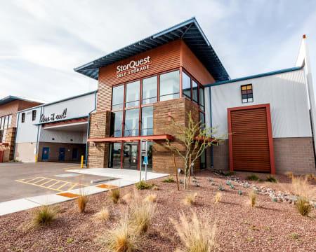 Exterior at StorQuest Self Storage in Buckeye, Arizona