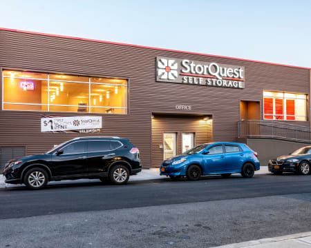 Drive up at StorQuest Self Storage in Brooklyn, New York