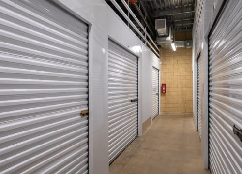 Storage units at StorQuest Self Storage in Richmond, California