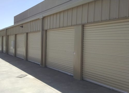 Drive-up access at StorQuest Self Storage in Richmond, California