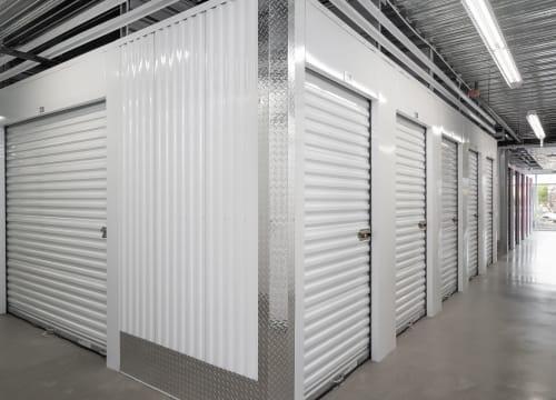 Indoor units at StorQuest Self Storage in Vista, California