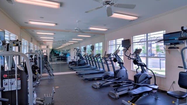 State of the Art Fitness center at Haddon Place