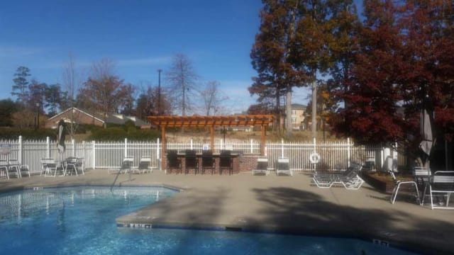Swimming pool with Grilling area at Highbrook in High Point, NC