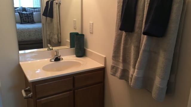 Bathroom at Laurel Springs in High Point, NC