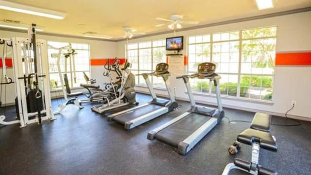 Exercise facility at our apartments in Lincoln at Wolfchase in Cordova, TN