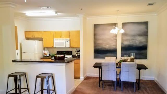 Kitchen at Northwind Apartments in Valdosta, GA