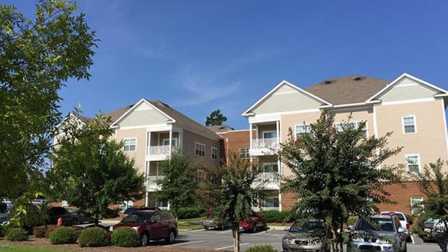 Exterior view of Northwind Apartments in Valdosta, GA