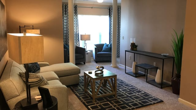 Enjoy apartments with a living room at Polo Village