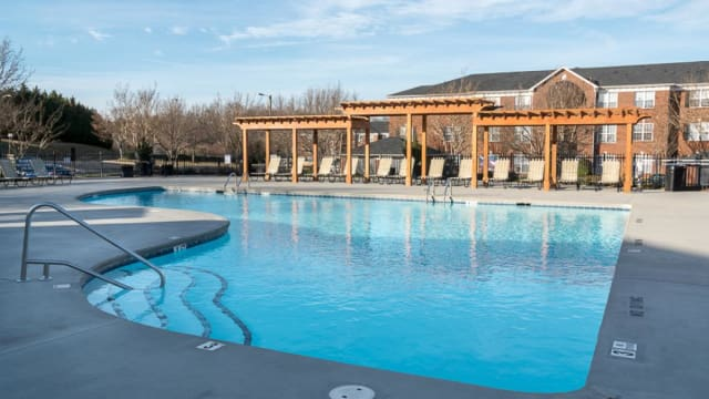 Swimming pool at Laurel Springs in High Point, North Carolina
