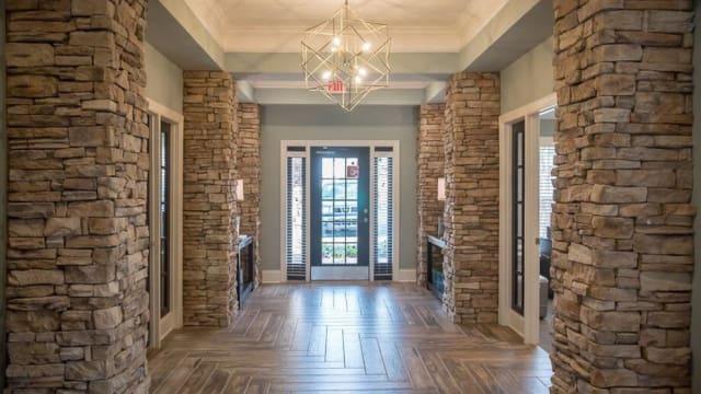 Interior desing at The Enclave at Deep River in Greensboro, North Carolina