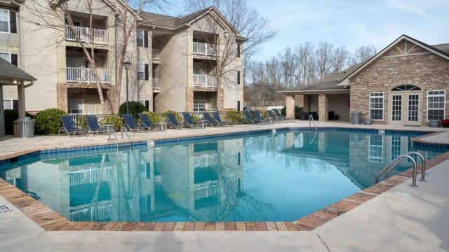 Swimming pool at The Enclave at Deep River in Greensboro, North Carolina