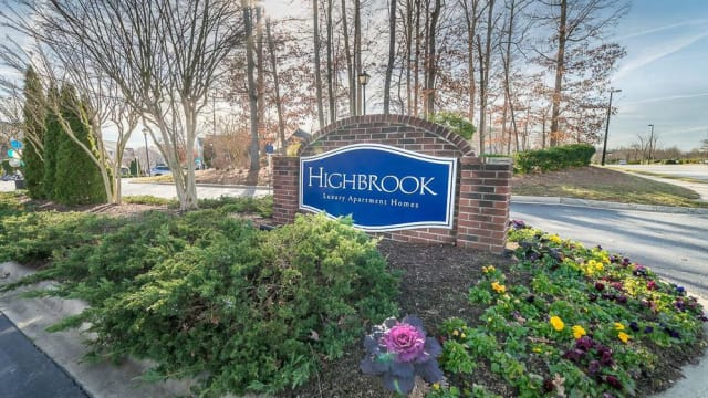 Front entry at Highbrook in High Point, North Carolina