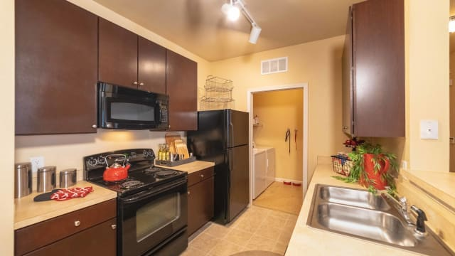 Kitchen at Integra Landings in Orange City, Florida