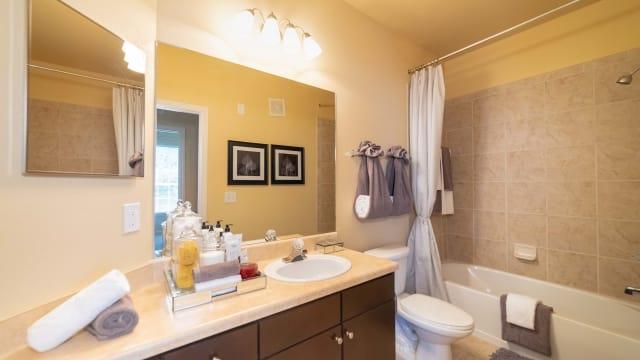 Bathroom at Integra Landings in Orange City, Florida