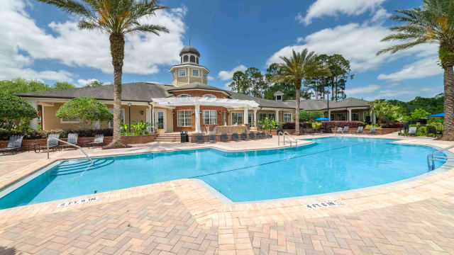 Pool view at Integra Landings in Orange City, Florida